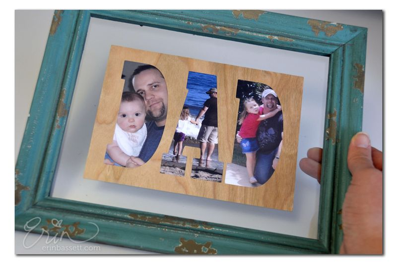!ScanNCut - Dad Photo Frame - Title2