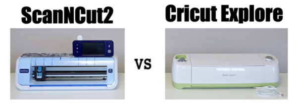 Comparing ScanNCut2 and Cricut Explore (creativitE by Erin Bassett)