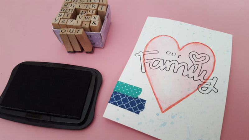 Alphabet stamps and Using the ScanNCut Universal Pen Holder