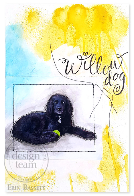 Art Journal - Willow Dog