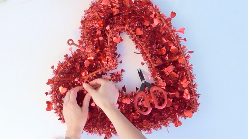2017 Valentine Wreath-3