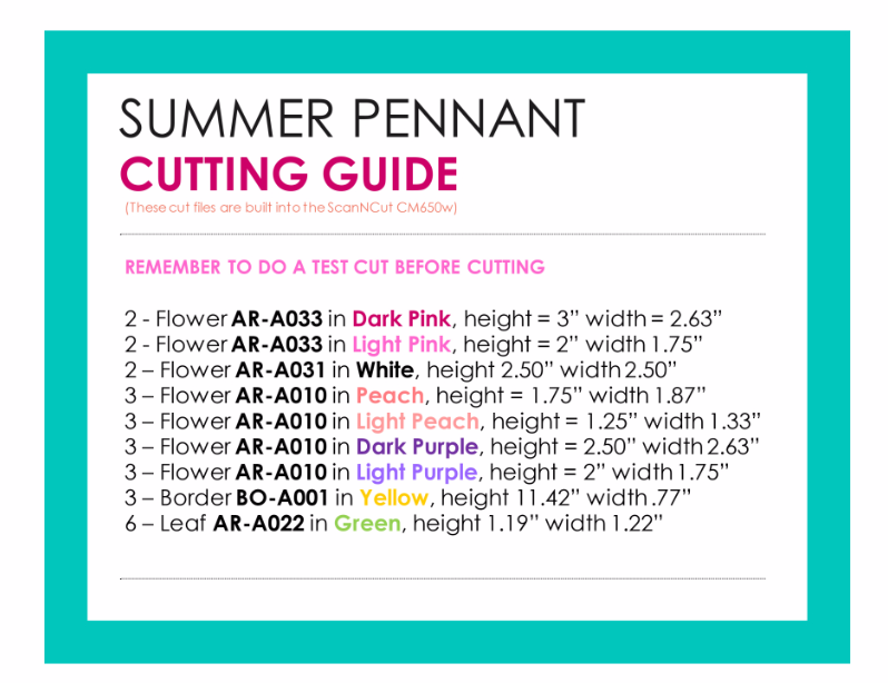 Cutting Guide wide for video